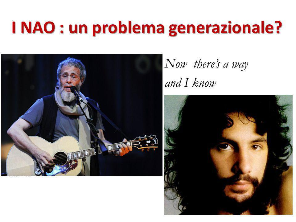 I NAO : un problema generazionale