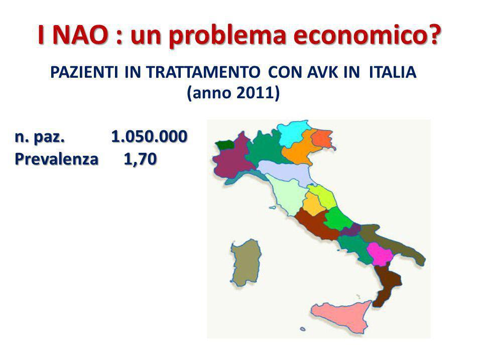 I NAO : un problema economico