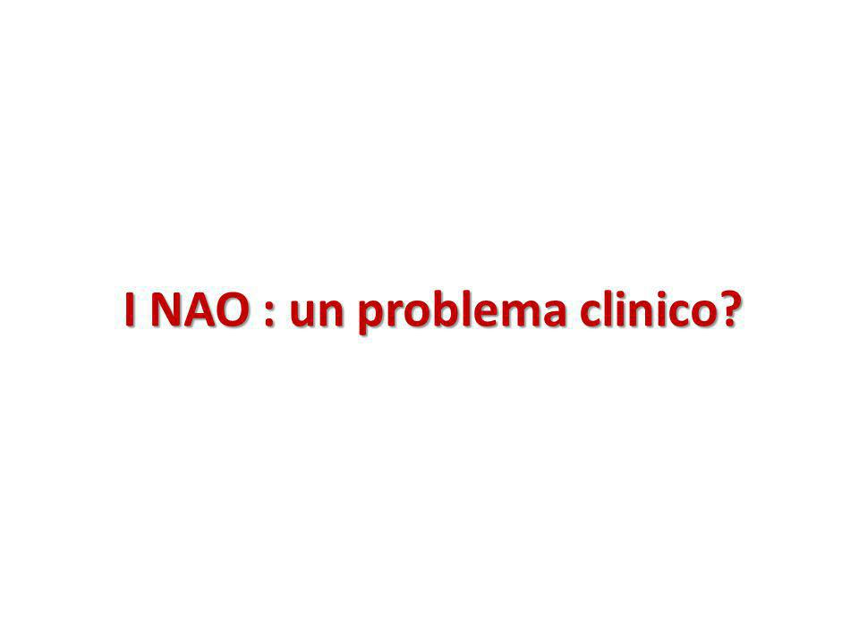 I NAO : un problema clinico