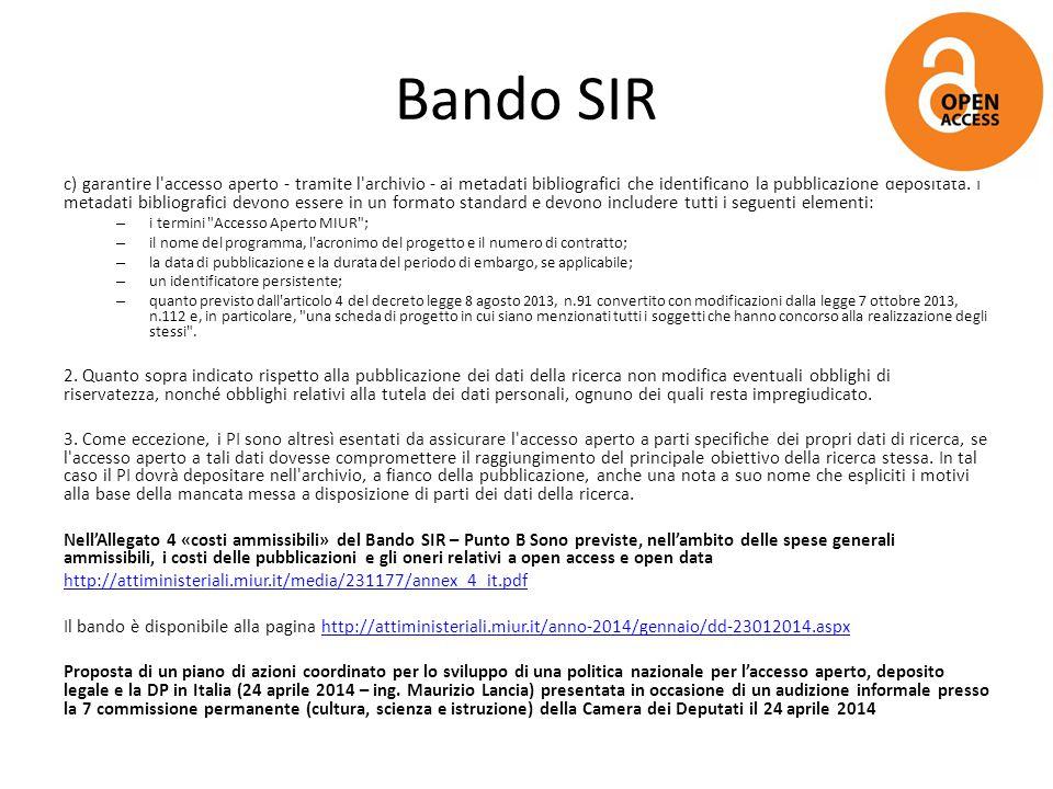 Bando SIR