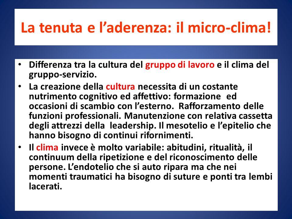 La tenuta e l'aderenza: il micro-clima!