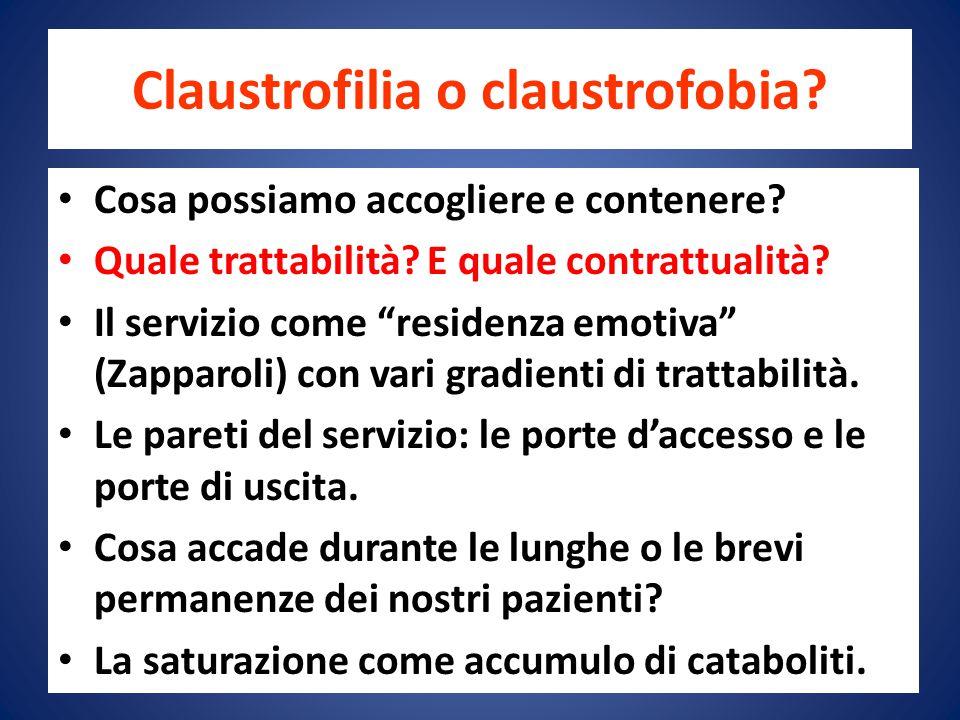 Claustrofilia o claustrofobia
