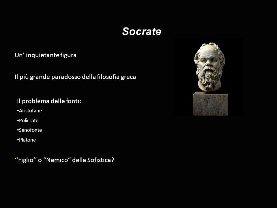 Socrate Un' inquietante figura