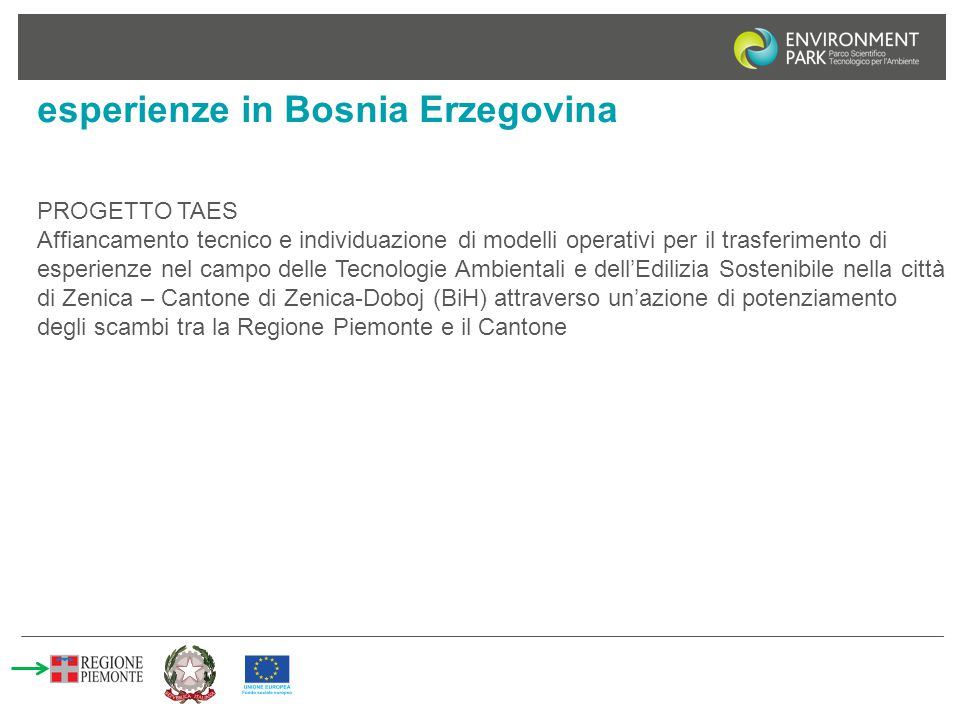 esperienze in Bosnia Erzegovina