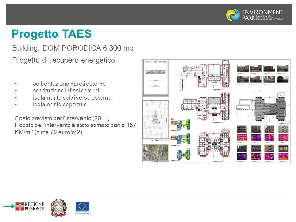 Progetto TAES Building: DOM PORODICA 6.300 mq