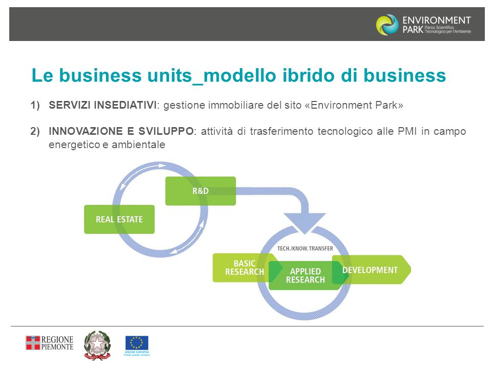 Le business units_modello ibrido di business