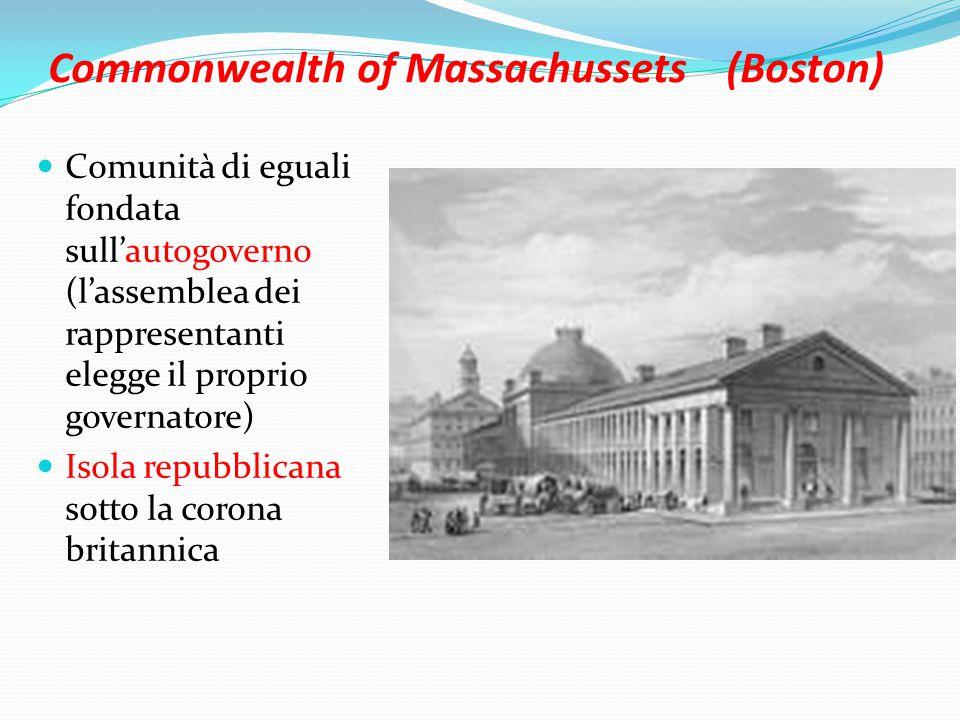 Commonwealth of Massachussets (Boston)
