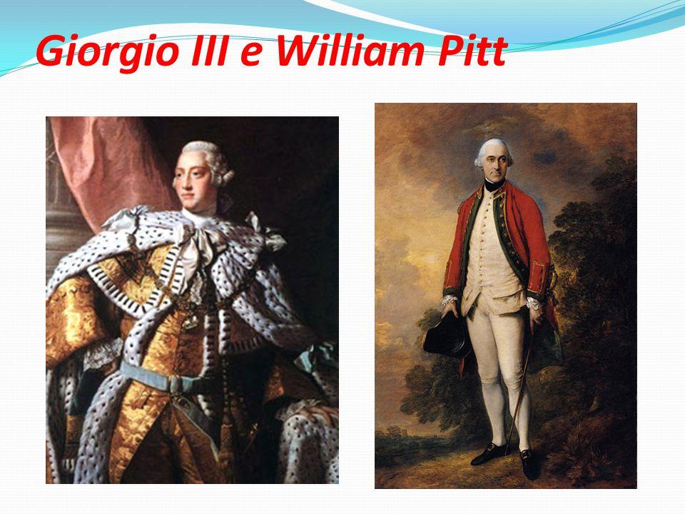 Giorgio III e William Pitt