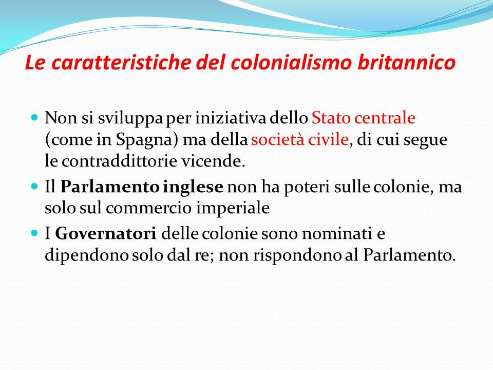 Le caratteristiche del colonialismo britannico