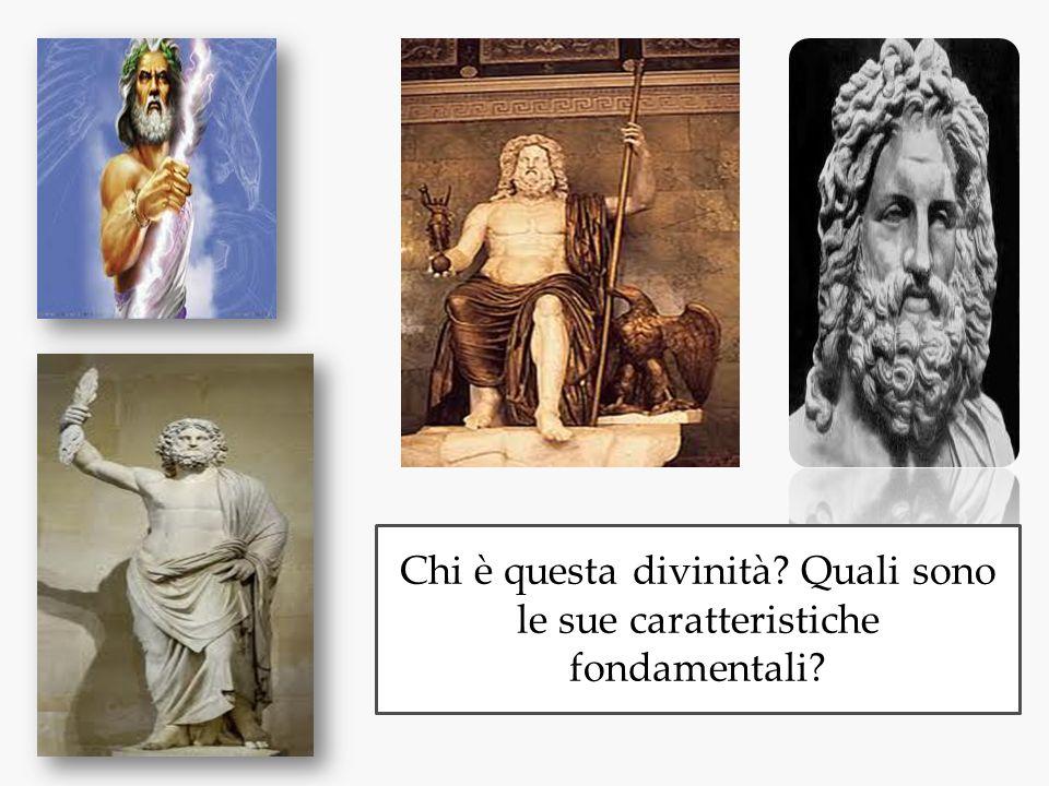 Chi è questa divinità Quali sono le sue caratteristiche fondamentali