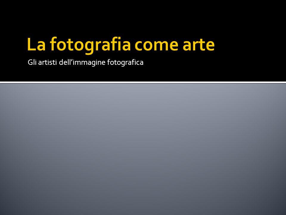 La fotografia come arte
