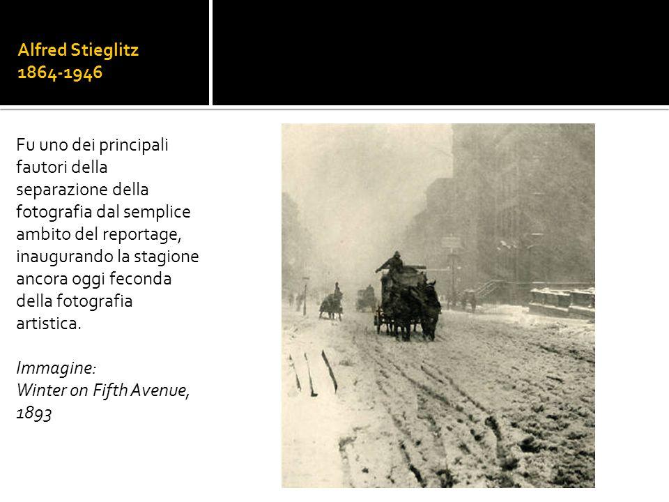 Alfred Stieglitz 1864-1946