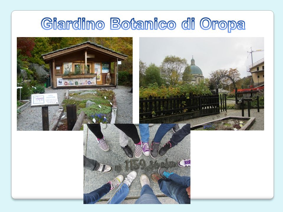 Giardino Botanico di Oropa