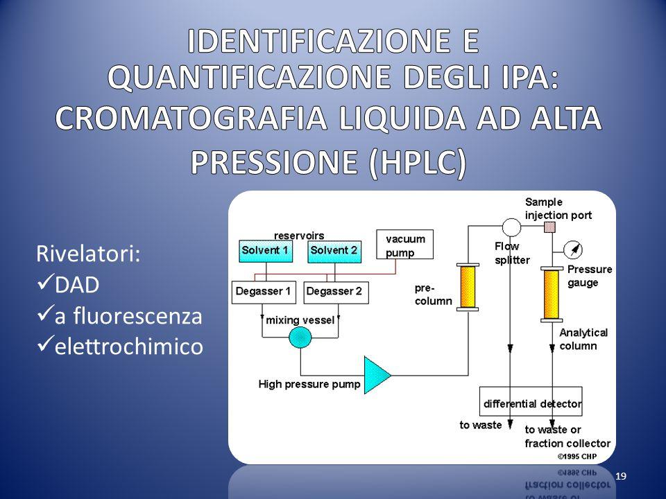CROMATOGRAFIA LIQUIDA AD ALTA PRESSIONE (HPLC)