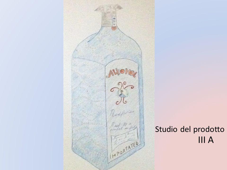 Studio del prodotto III A