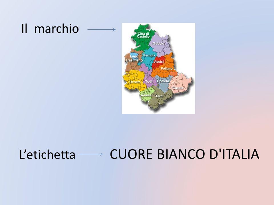 Il marchio L'etichetta CUORE BIANCO D ITALIA