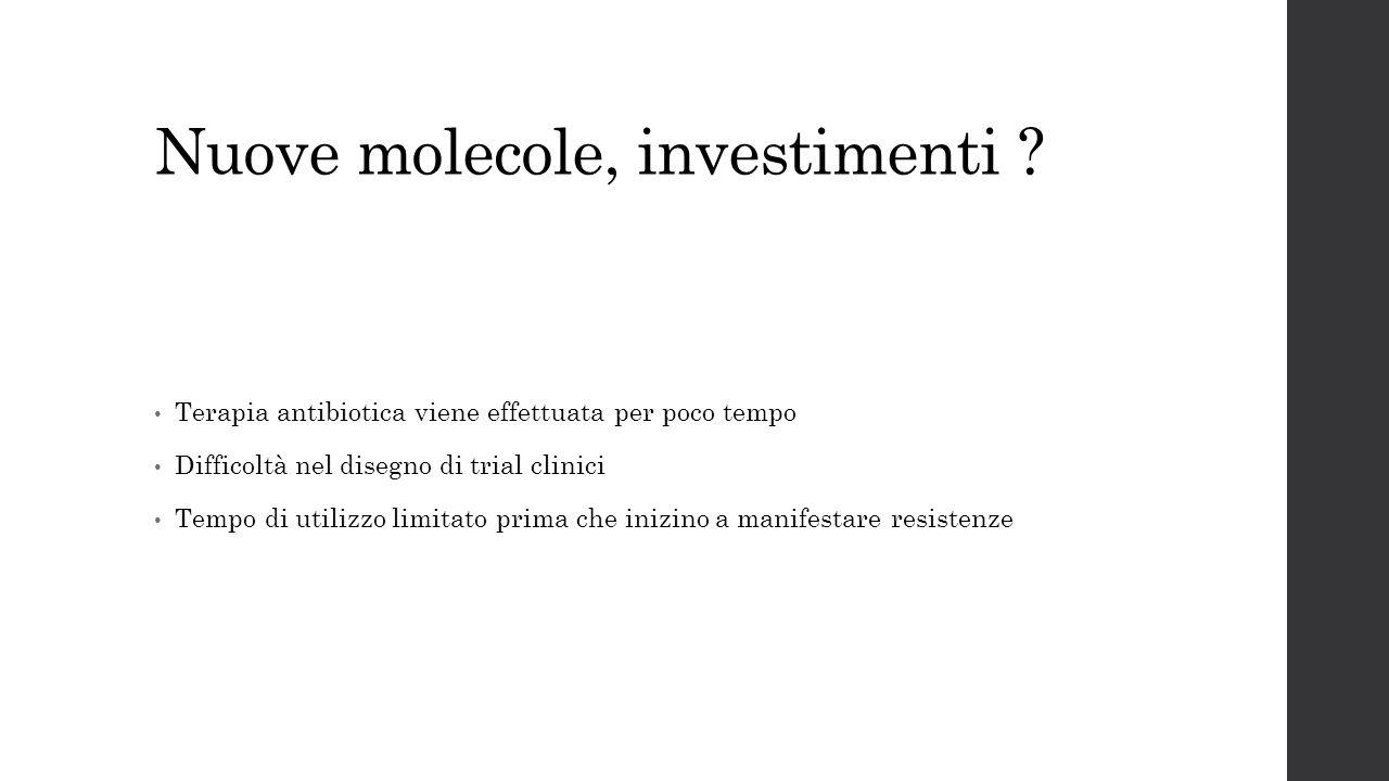 Nuove molecole, investimenti
