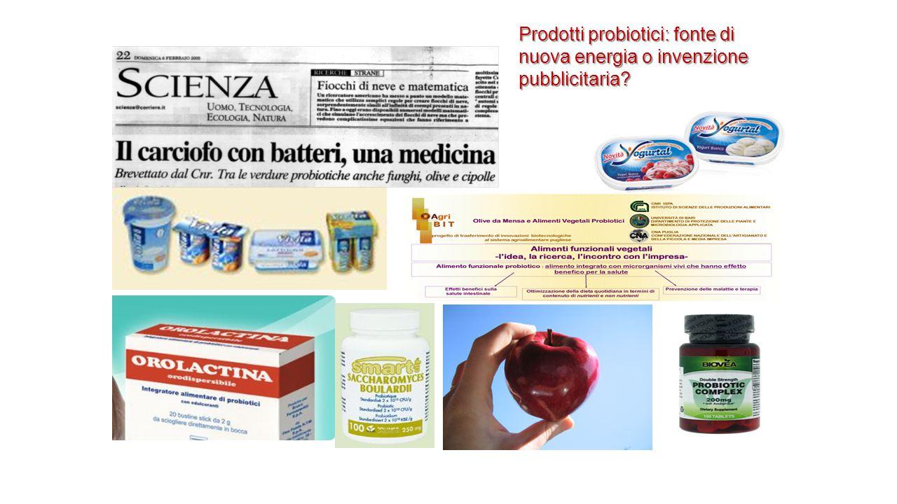 Prodotti probiotici: fonte di nuova energia o invenzione pubblicitaria