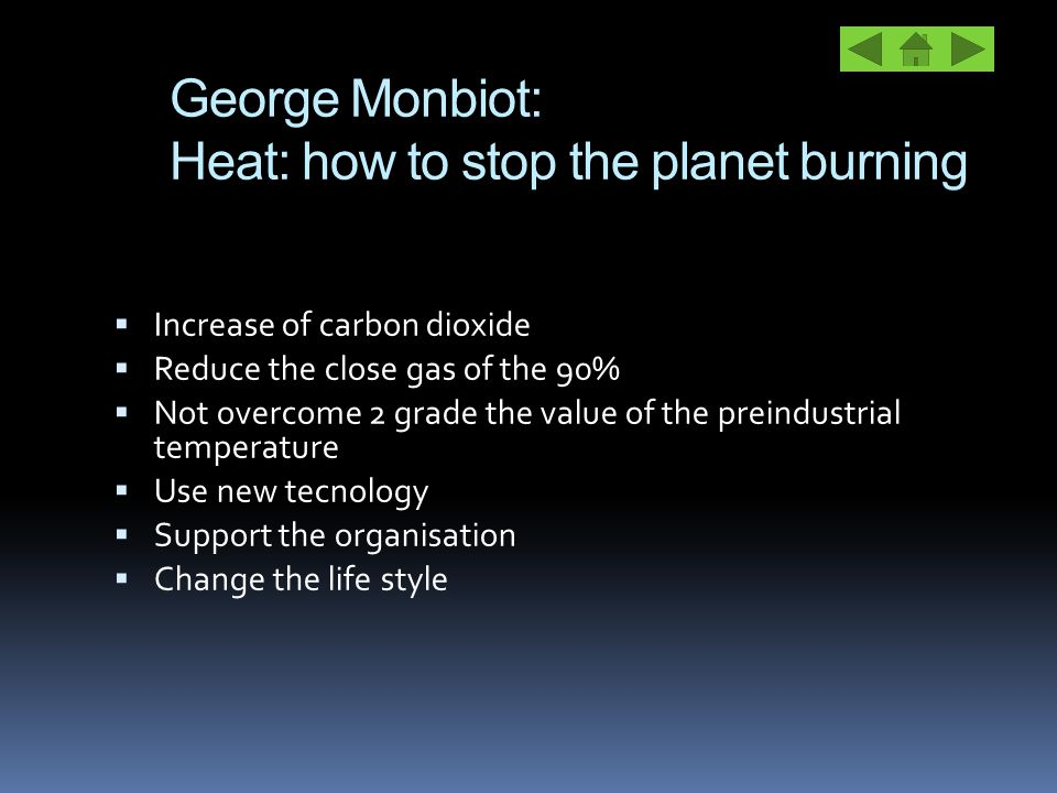 George Monbiot: Heat: how to stop the planet burning