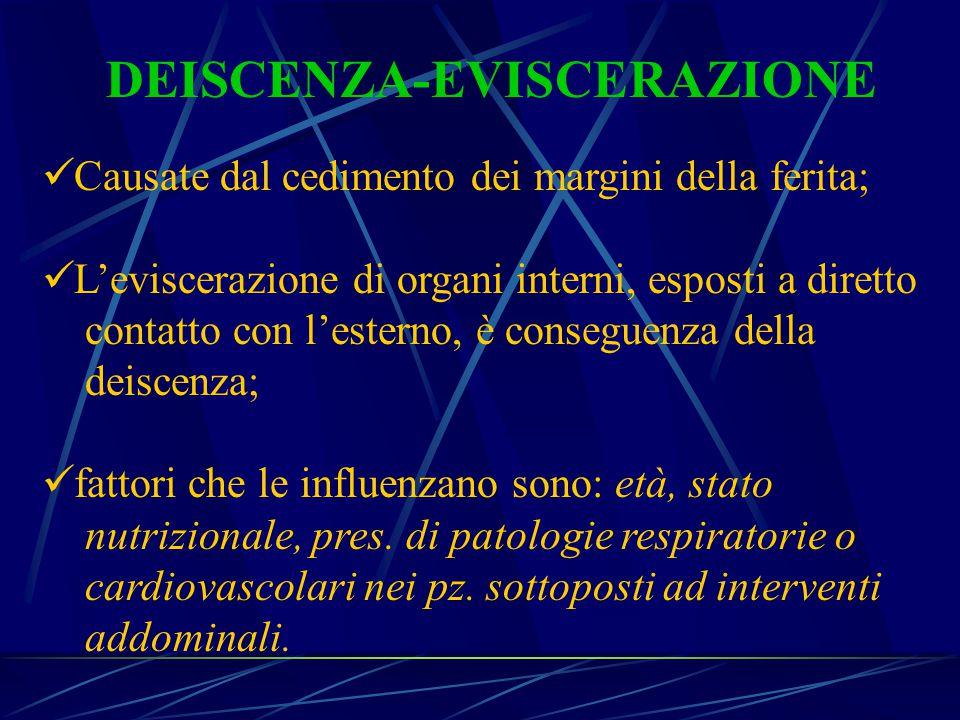DEISCENZA-EVISCERAZIONE