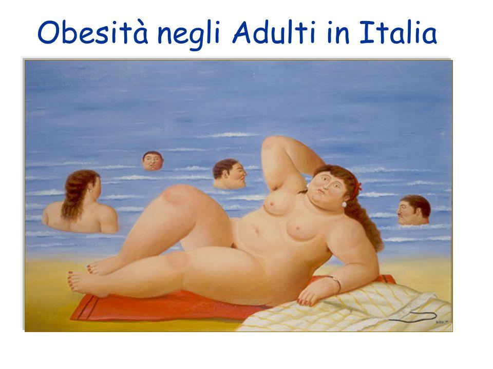 Obesità negli Adulti in Italia