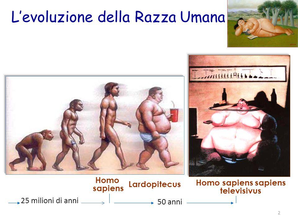 L'evoluzione della Razza Umana