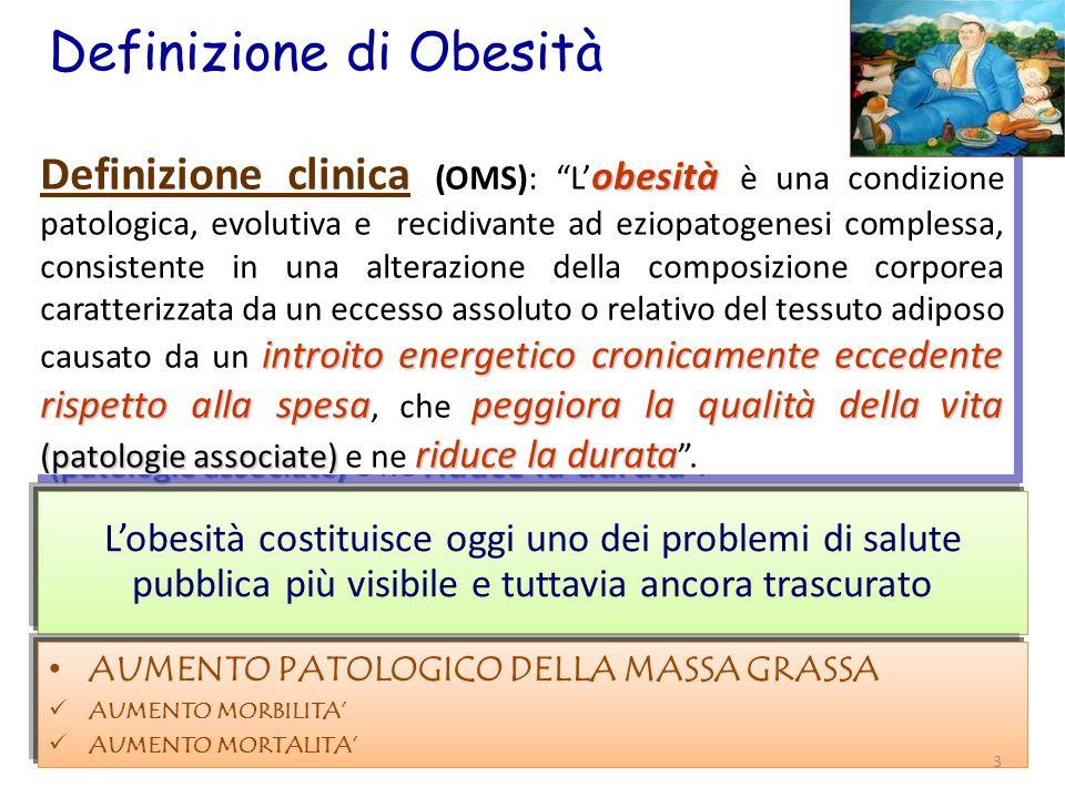 Definizione di Obesità
