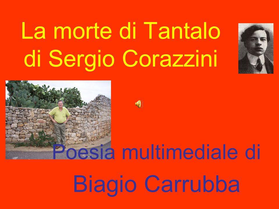 La morte di Tantalo di Sergio Corazzini