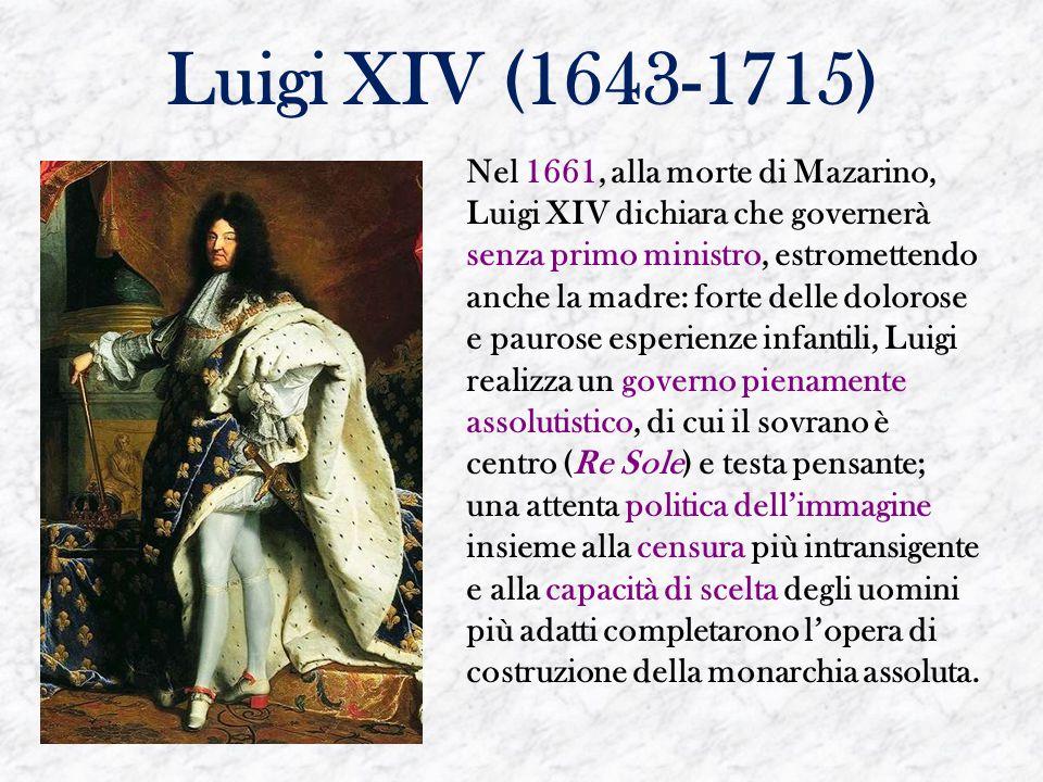 Luigi XIV (1643-1715)