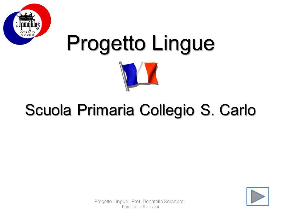 Progetto Lingue Scuola Primaria Collegio S. Carlo
