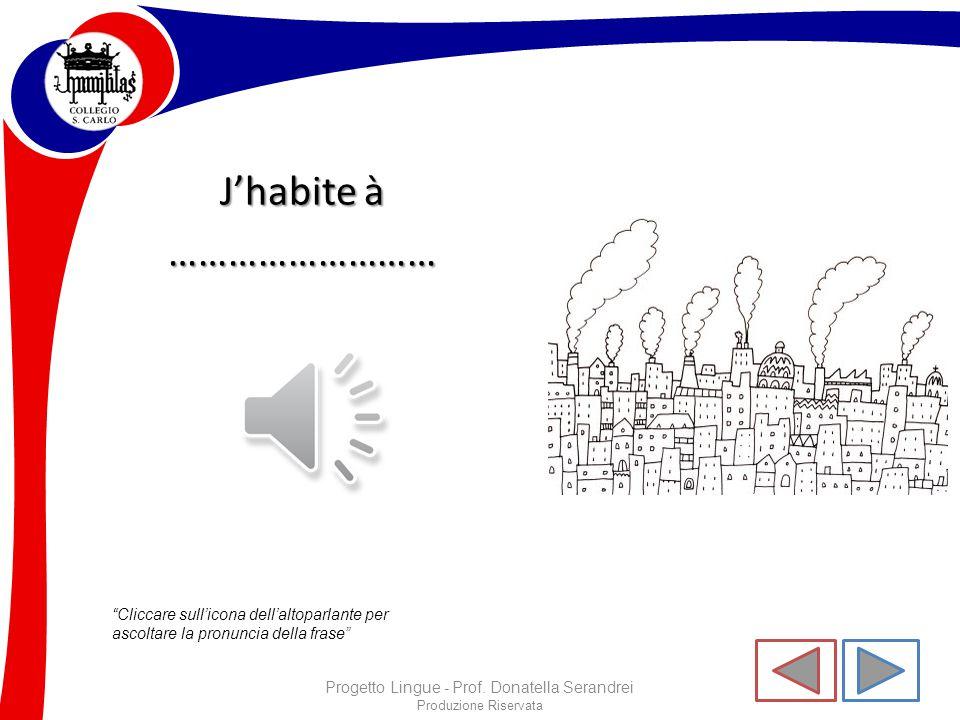 Progetto Lingue - Prof. Donatella Serandrei