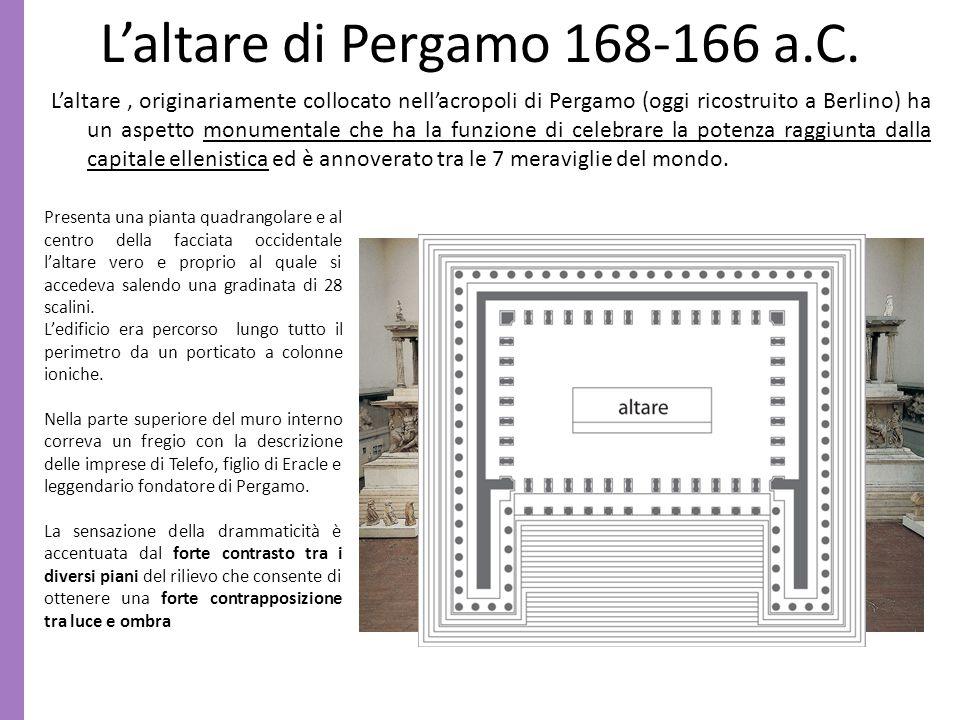 L'altare di Pergamo 168-166 a.C.