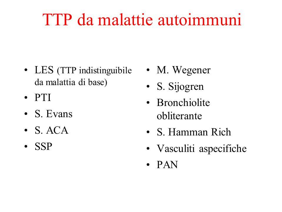 TTP da malattie autoimmuni