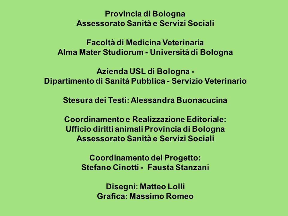 Assessorato Sanità e Servizi Sociali Facoltà di Medicina Veterinaria