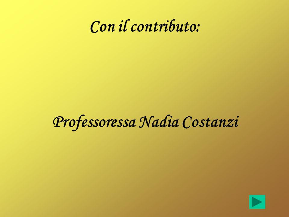 Professoressa Nadia Costanzi