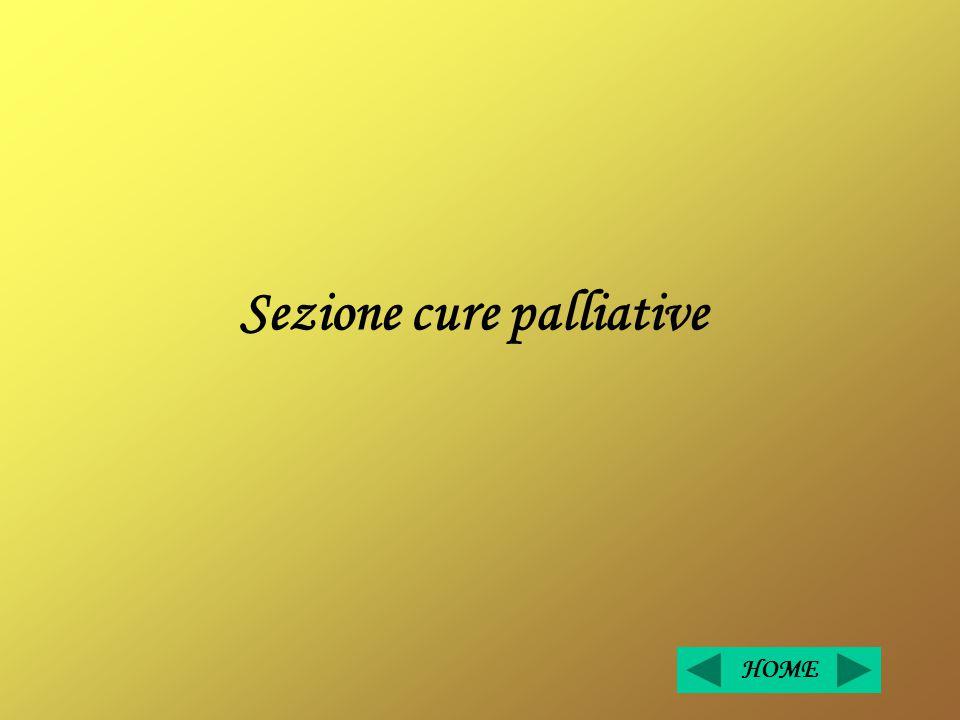 Sezione cure palliative