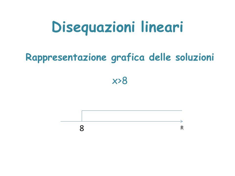 Rappresentazione grafica delle soluzioni