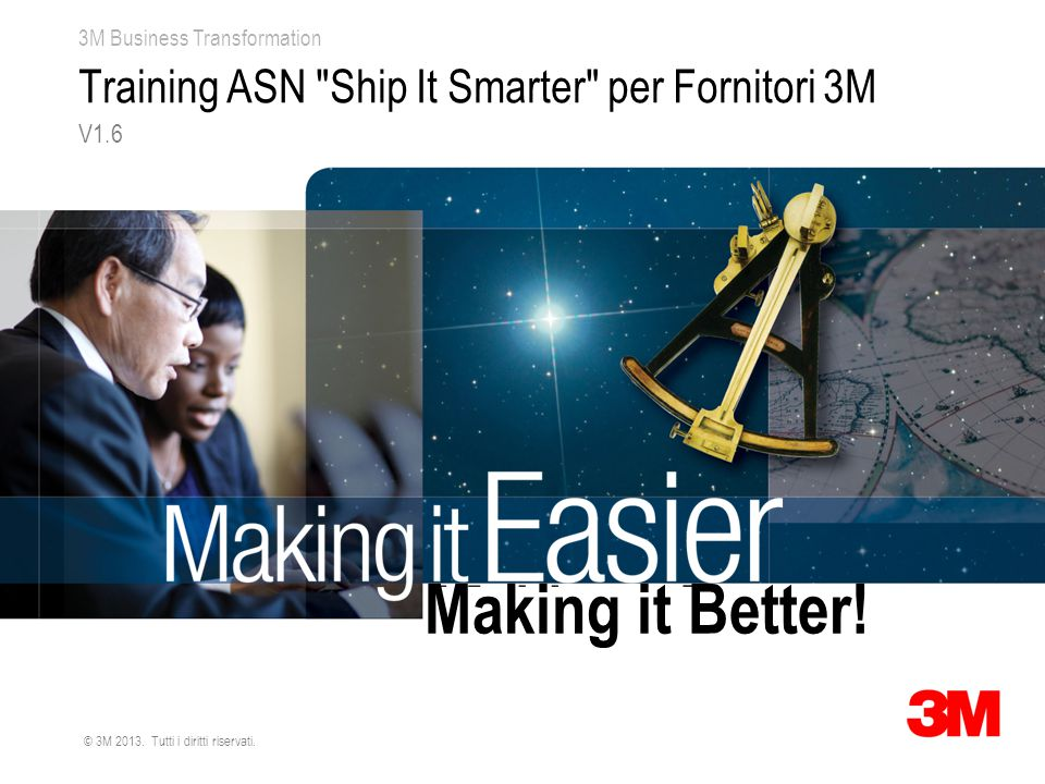 Training ASN Ship It Smarter per Fornitori 3M