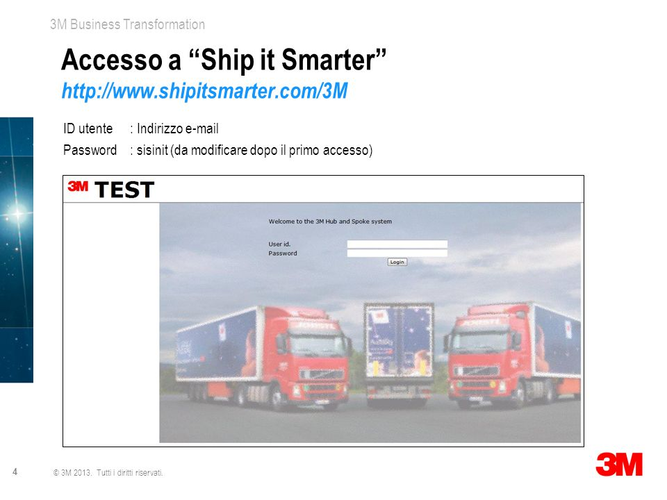 Accesso a Ship it Smarter