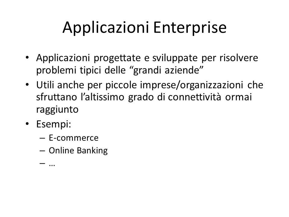 Applicazioni Enterprise