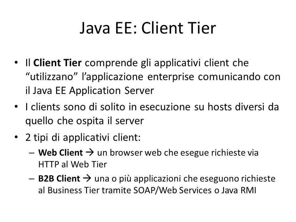Java EE: Client Tier