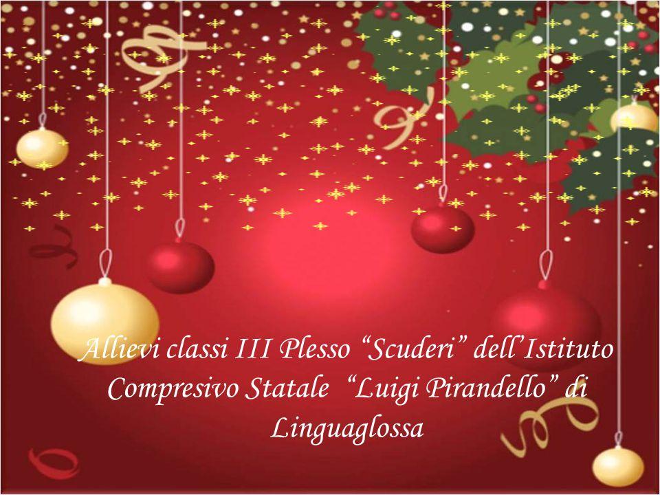 Allievi classi III Plesso Scuderi dell'Istituto Compresivo Statale Luigi Pirandello di Linguaglossa