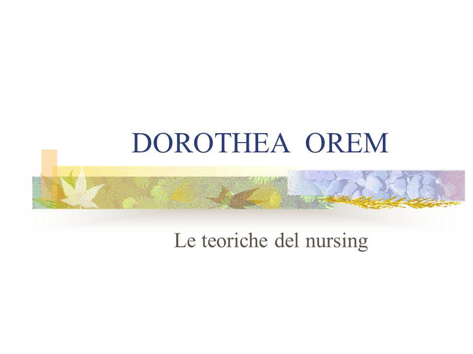 Le teoriche del nursing