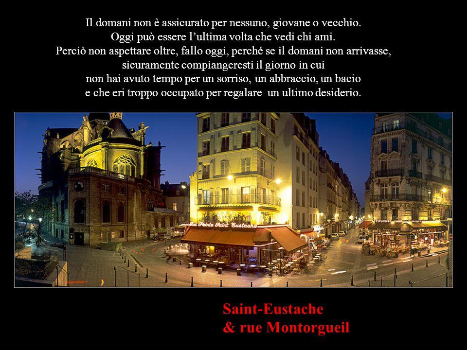 Saint-Eustache & rue Montorgueil