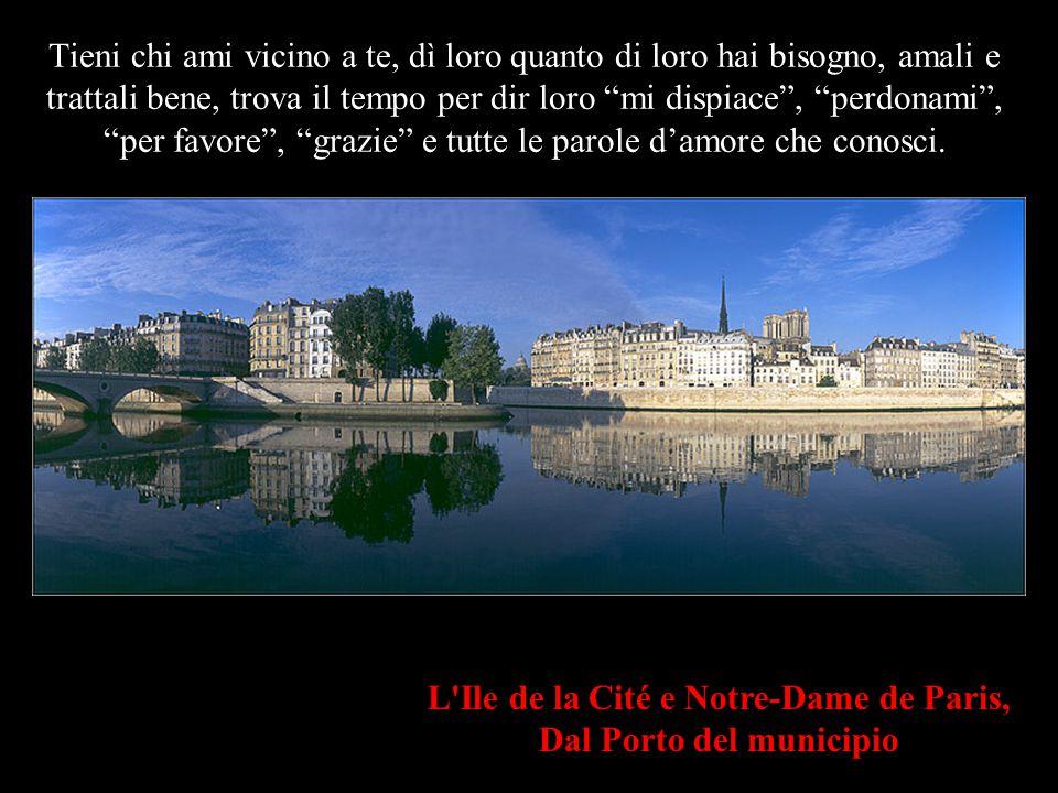 L Ile de la Cité e Notre-Dame de Paris, Dal Porto del municipio