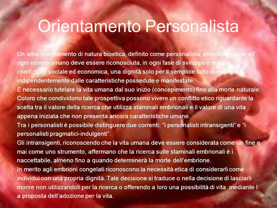 Orientamento Personalista