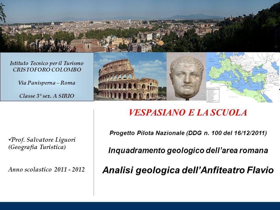 Analisi geologica dell'Anfiteatro Flavio