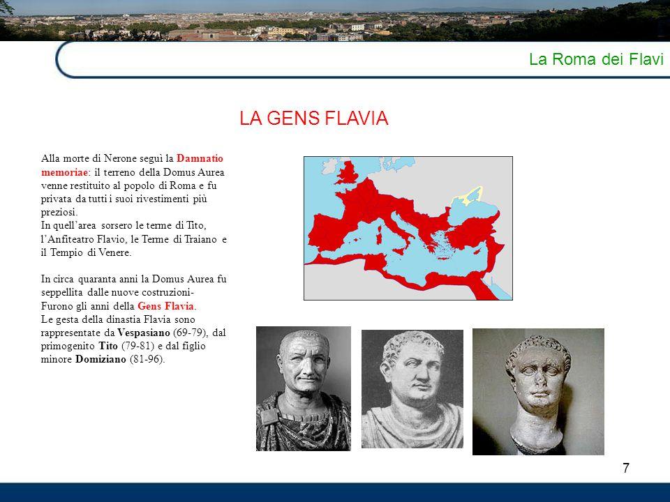 LA GENS FLAVIA La Roma dei Flavi 7