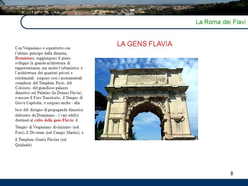 LA GENS FLAVIA La Roma dei Flavi 8
