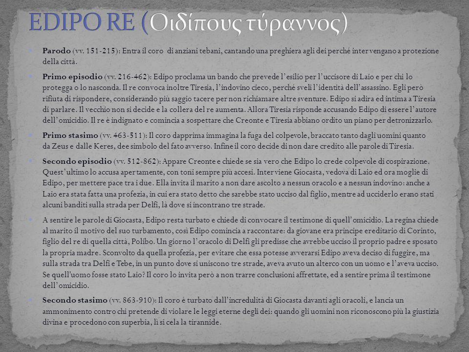 EDIPO RE (Οιδίπoυς τύραννoς)